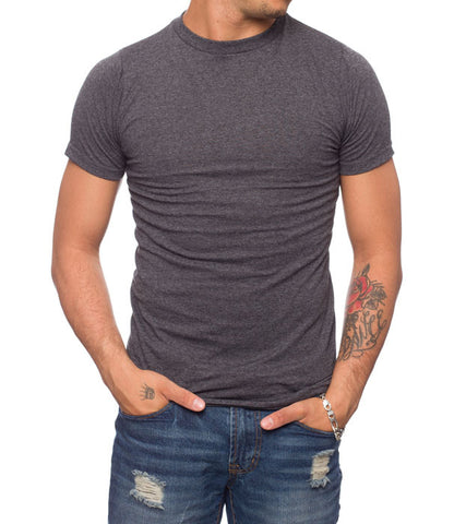 Classic Fit Crew Neck Heather T-Shirt
