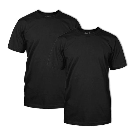 Double Dye T-Shirt 2 Pack: Onyx