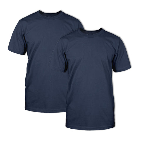 Double Dye T-Shirt 2 Pack: Navy