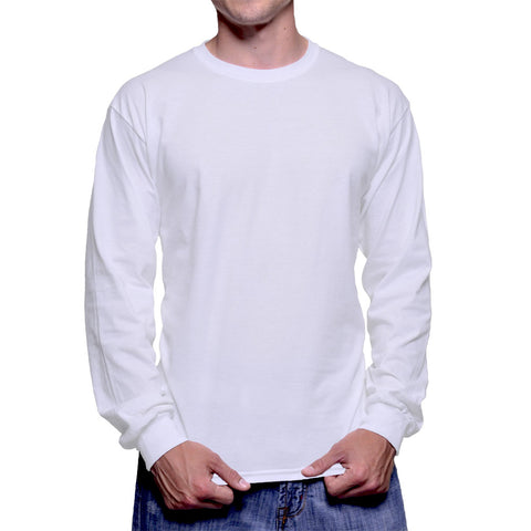 Classic Fit Long Sleeve Crew Neck T-Shirt