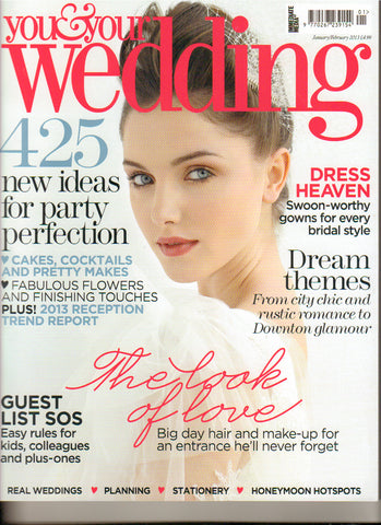 You & Your wedding Cover for Lily Bella