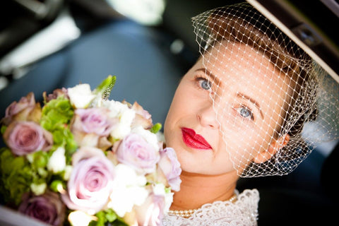 * Best Seller Birdcage Veil - 5 day dispatch