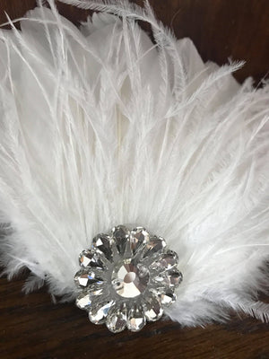 *NEW* Holly Feather hairpiece