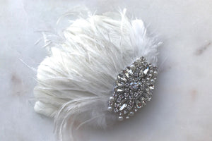 *NEW* Paris Feather hairpiece