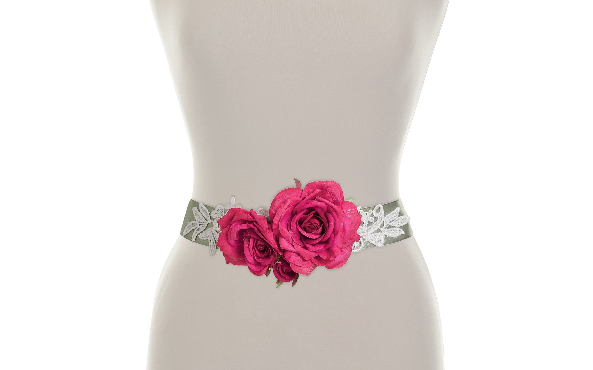 Rosa flower belt as seen in ok magazine by lily bella lily bella previous image next image izmirmasajfo