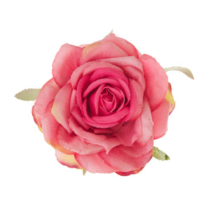 Rosa Pink Hair Flower  - New for 2015