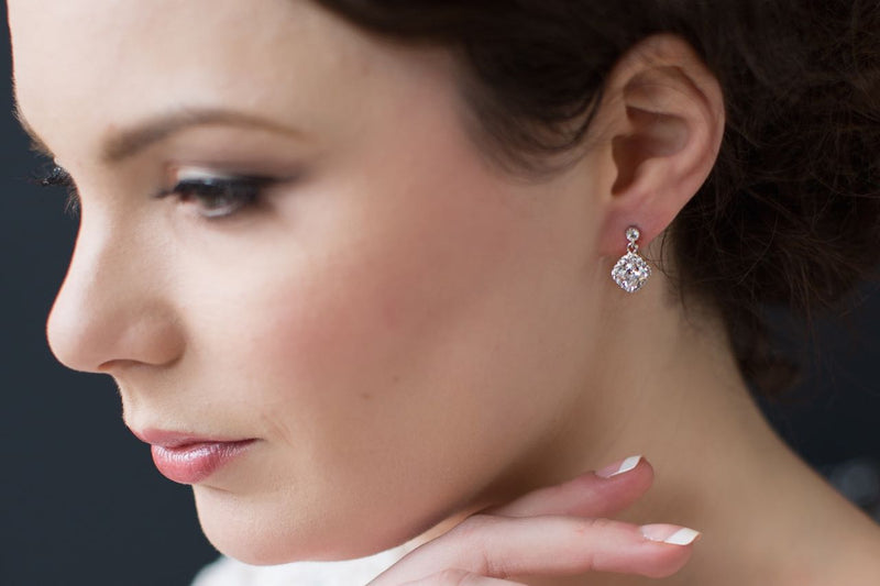*New Fleur Sparkle Earrings