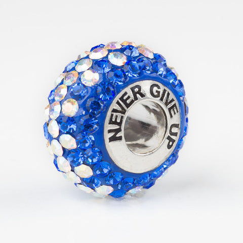 Never Give Up bead