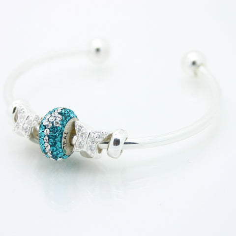 Teal Warrior Bead & Butterfly Bundle