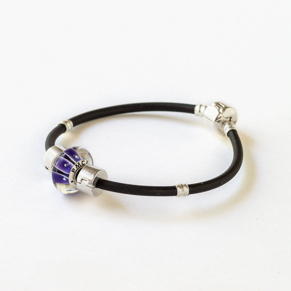 The PMC 2015 bead on our sporty bracelet