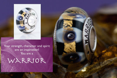 Warrior bead (by Confidence Beads)