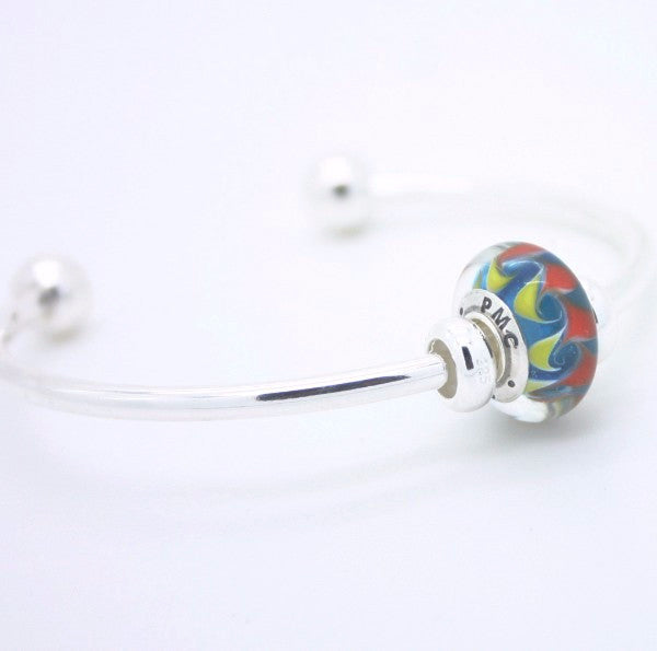 The PMC 2016 bead on bangle bracelet