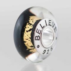 "Sporty Bruins ""Believe"" bead"
