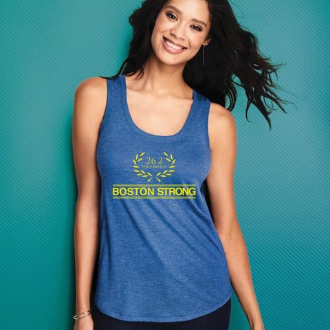 Women's Boston Strong Racerback Tank 26.2