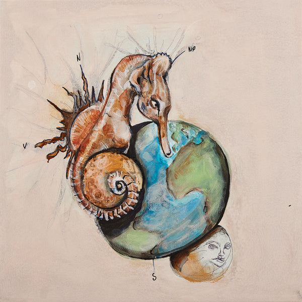 Between Earths - Painting (NEW)