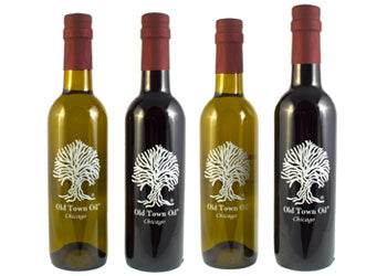 Old Town Oil Flavored EVOO Favorites 4 Bottle Gift Box