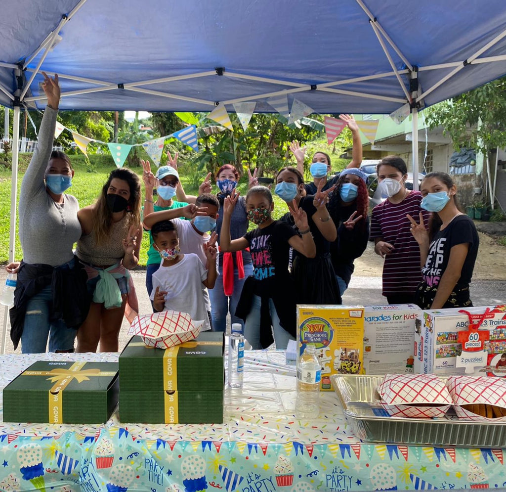 rio grande toy and food drive puerto rico karma project