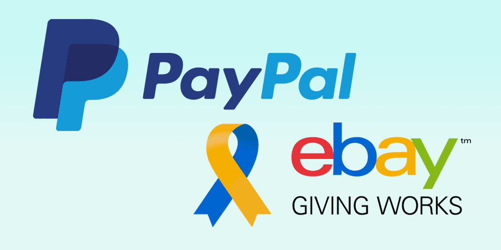 ebay for charity paypal giving fund