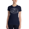 Compassion Over Cruelty - White Print - Women's Slim Fit Vegan T-Shirt