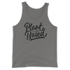 Plant Based - Black Print - Unisex Vegan Tank Top