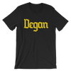 Vegan - Yellow Print - Unisex Vegan T-shirt