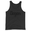 Vegan - Black Print - Unisex Vegan Tank Top