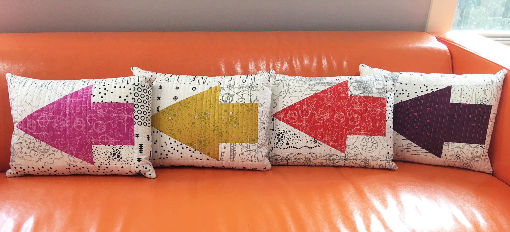 Reversible One Way Pillows