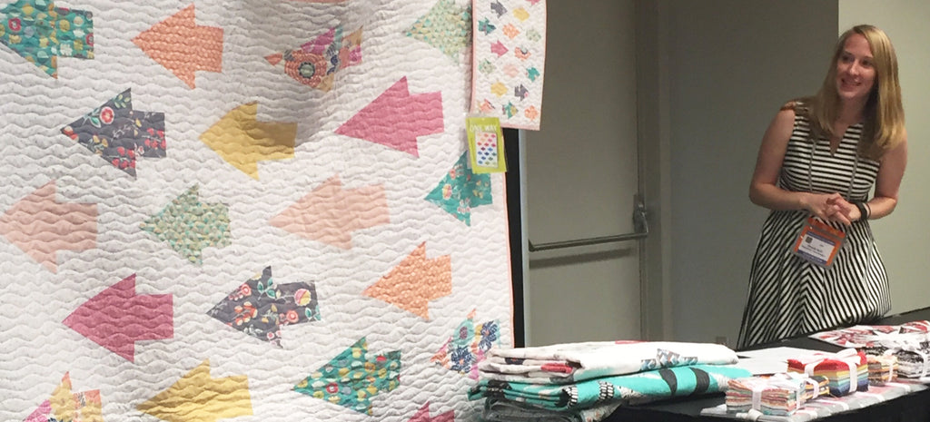 Spring 2016 Quilt Market in Salt Lake City