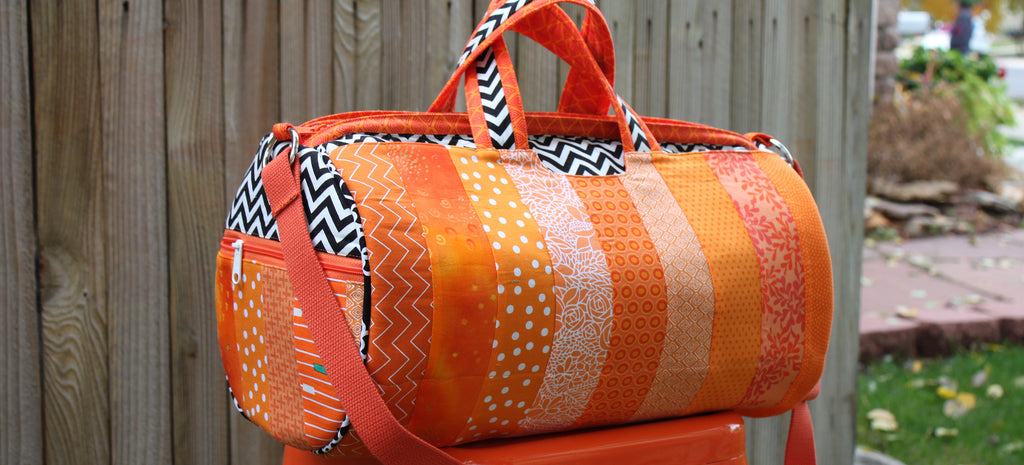 Scrappy Orange Daily Duffle