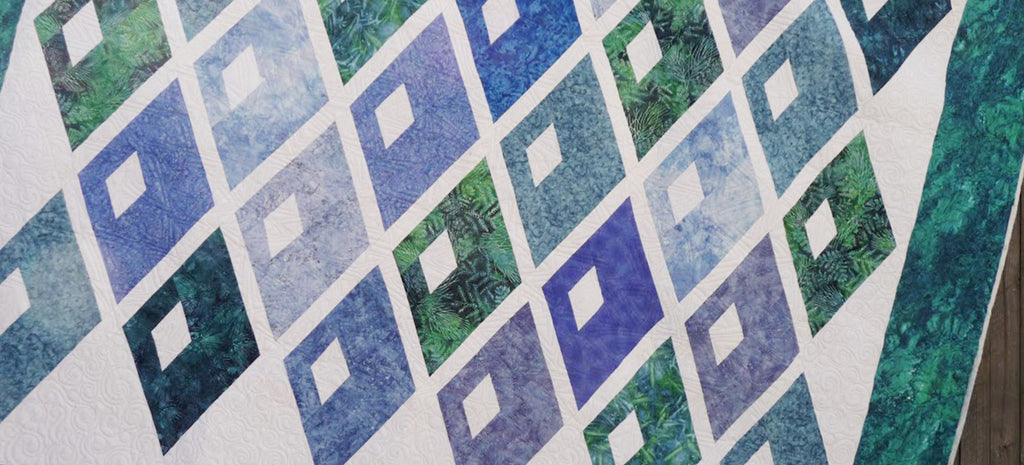 Regina's Diamond Alley Quilt