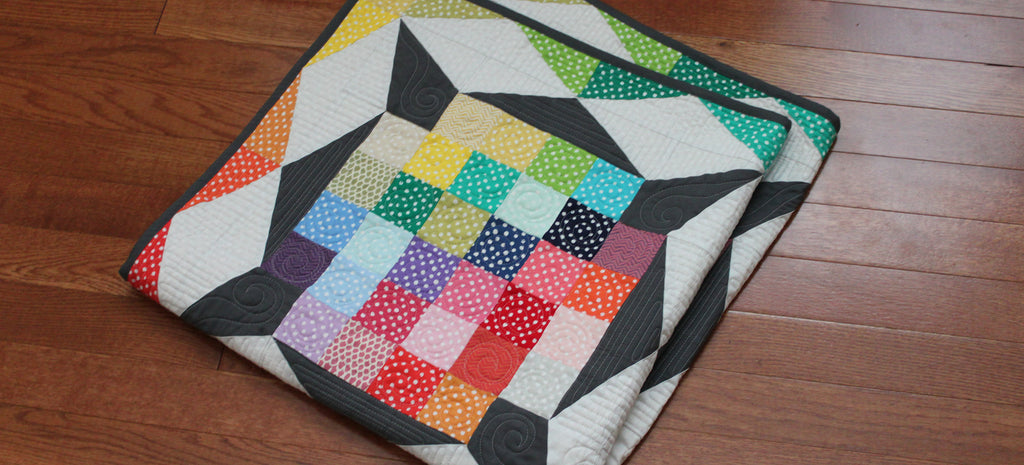 Blogger's Quilt Festival: Scrappy Quilt Entry