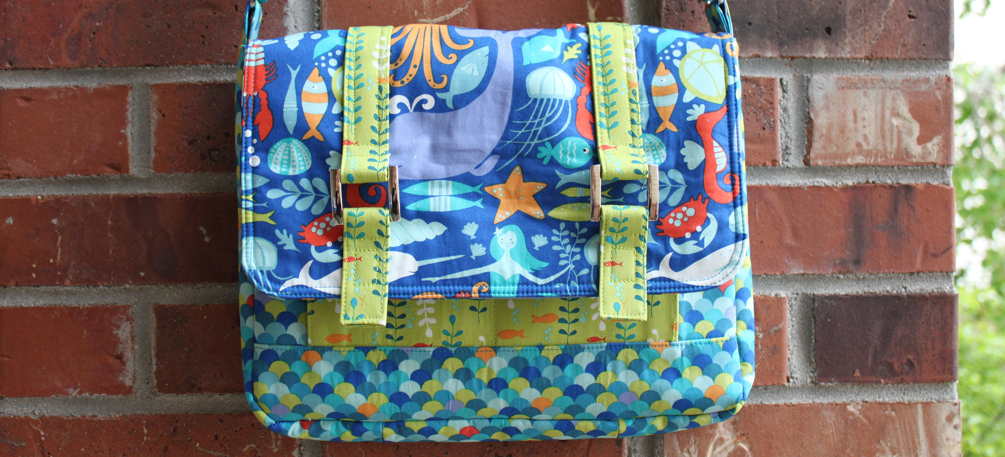 Shelby Satchel in Under the Sea