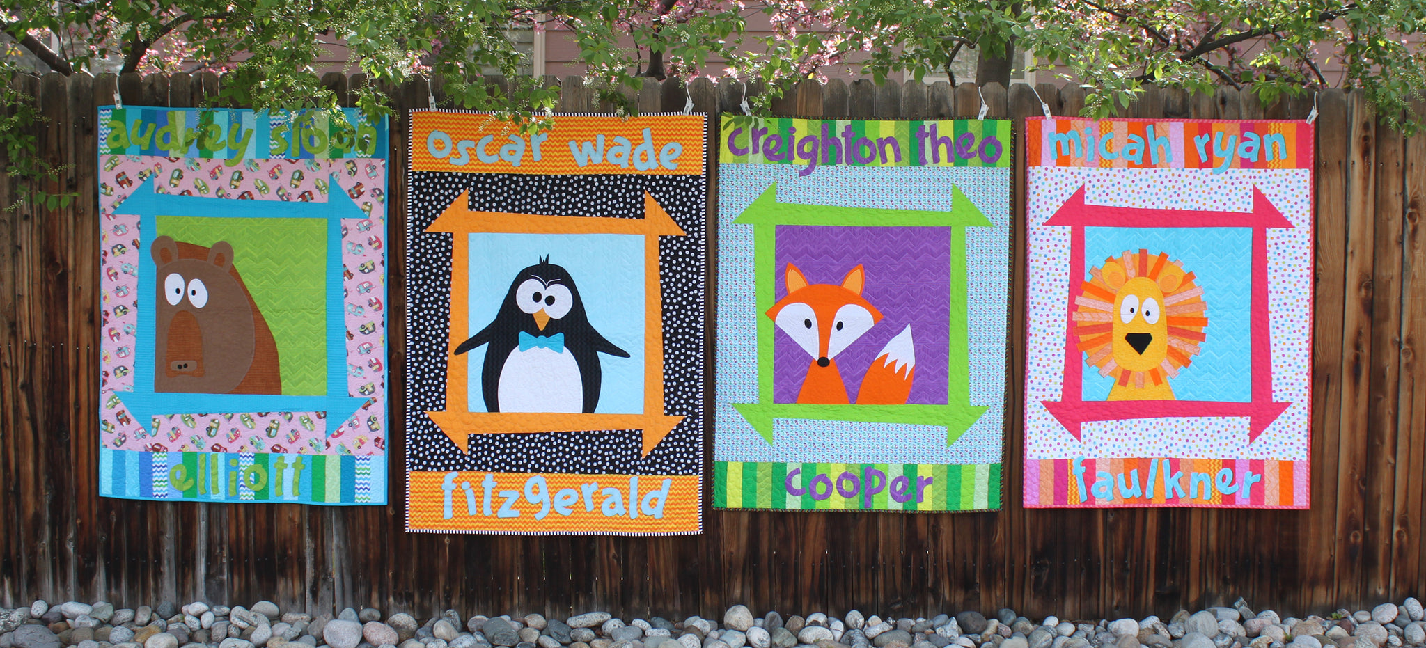 Zoey's Zoo Tutorial & Giveaway with Timeless Treasures Fabrics!