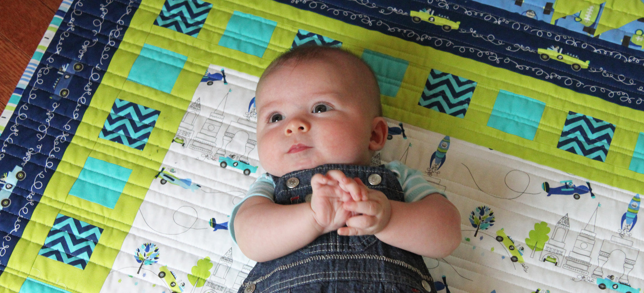 Blogger's Quilt Festival - Baby Quilt Entry