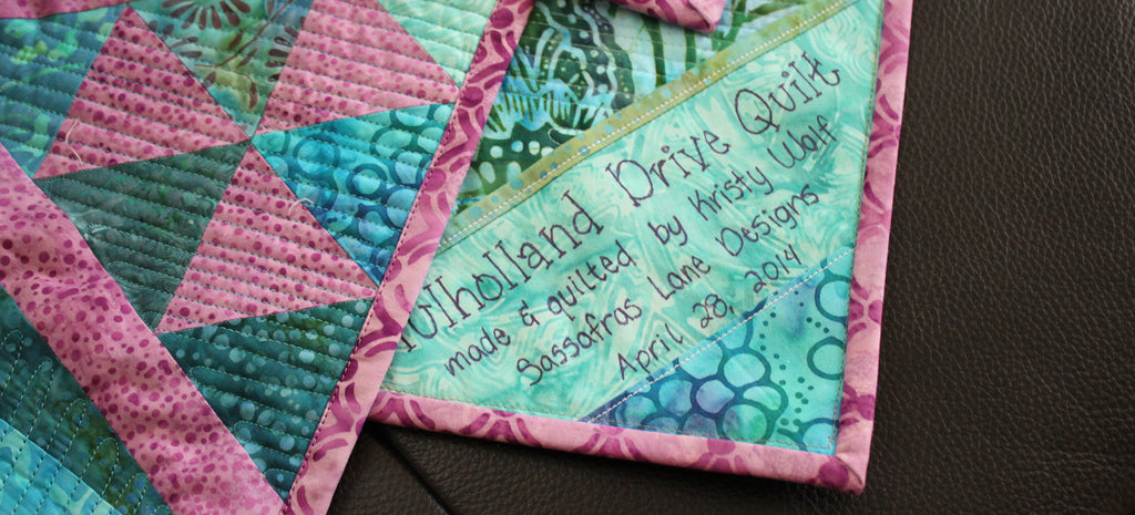 Mulholland Drive in Batiks & Sale Announcement!