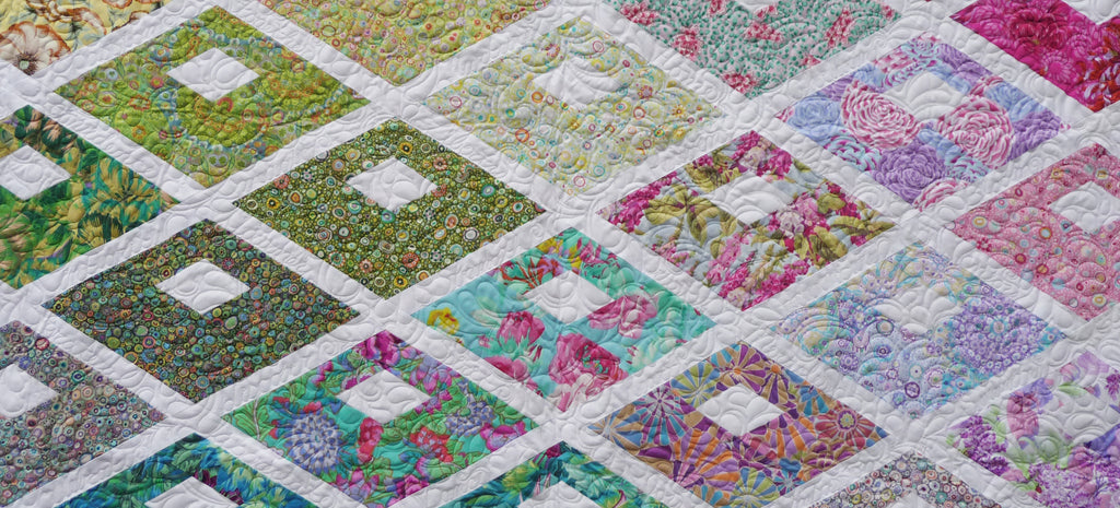 Lori's Diamond Alley Quilt