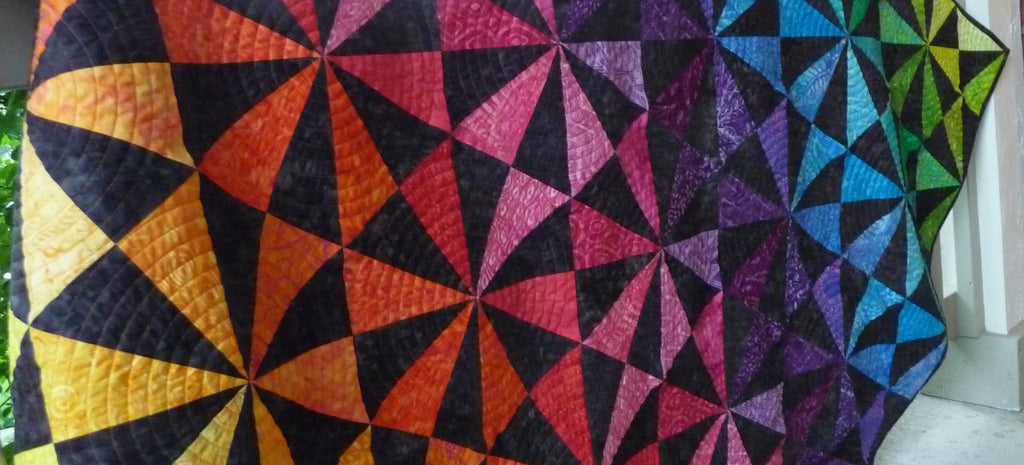 Prism Parkway in Tonga Batiks & Sale Announcement!
