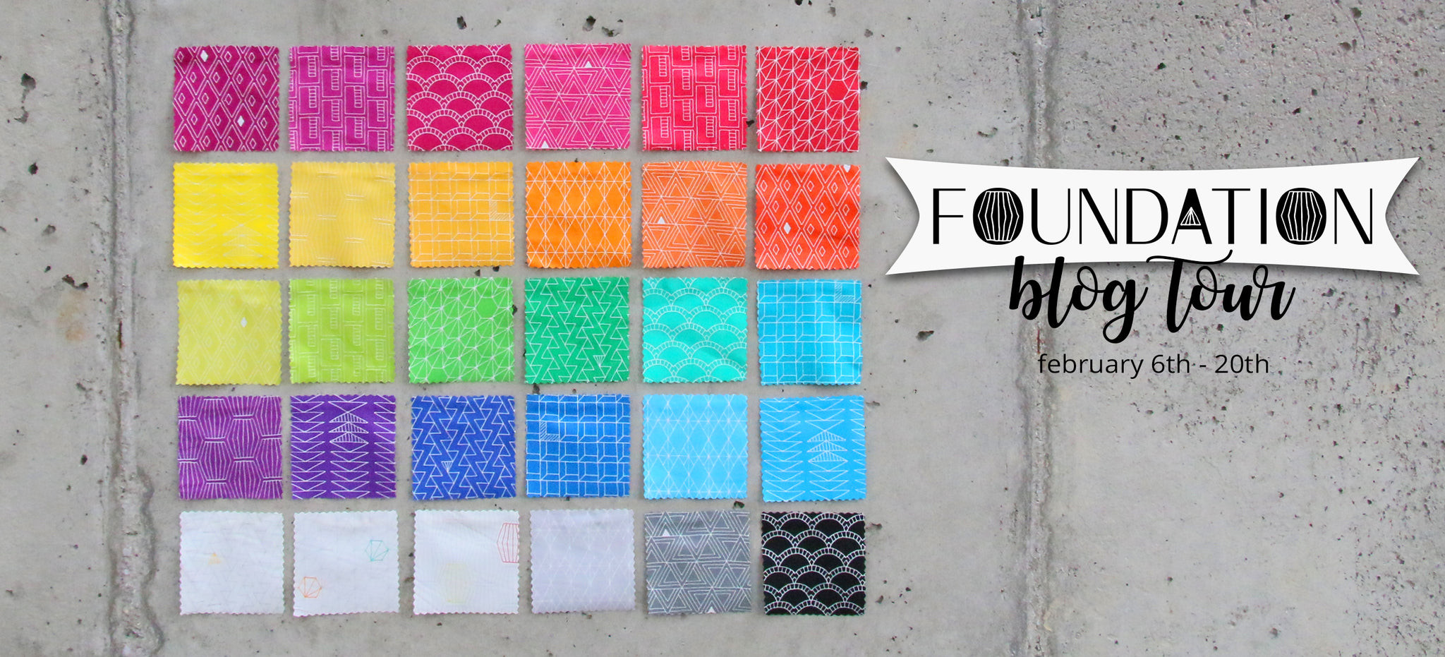 Foundation Fabric Blog Tour