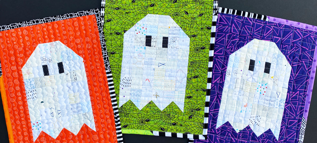 Free Patchwork Ghost Mini Pattern