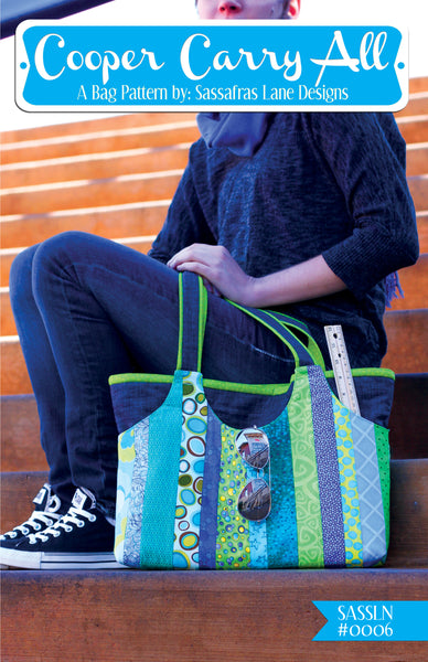 Cooper Carry-All bag by Sassafras Lane Designs