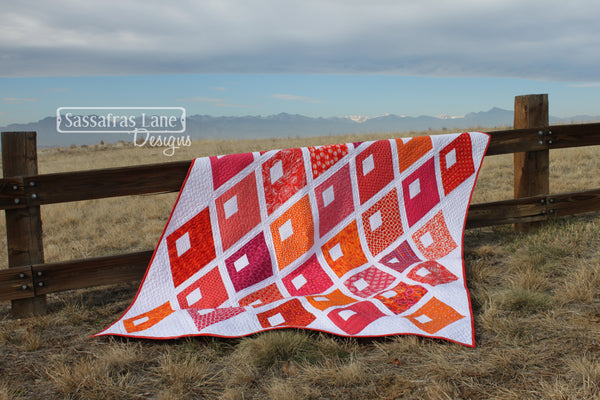 Diamond Alley Quilt Pattern by Sassafras Lane Designs
