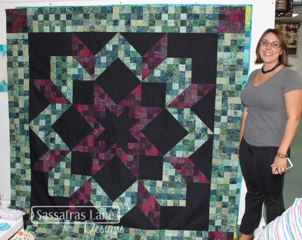 Atlantic Avenue Quilt Pattern made by Stacy Cholas