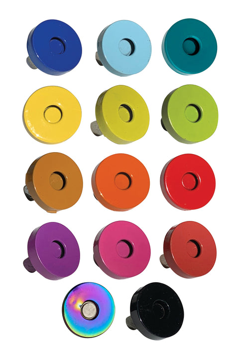 Colorful Magnetic Snaps