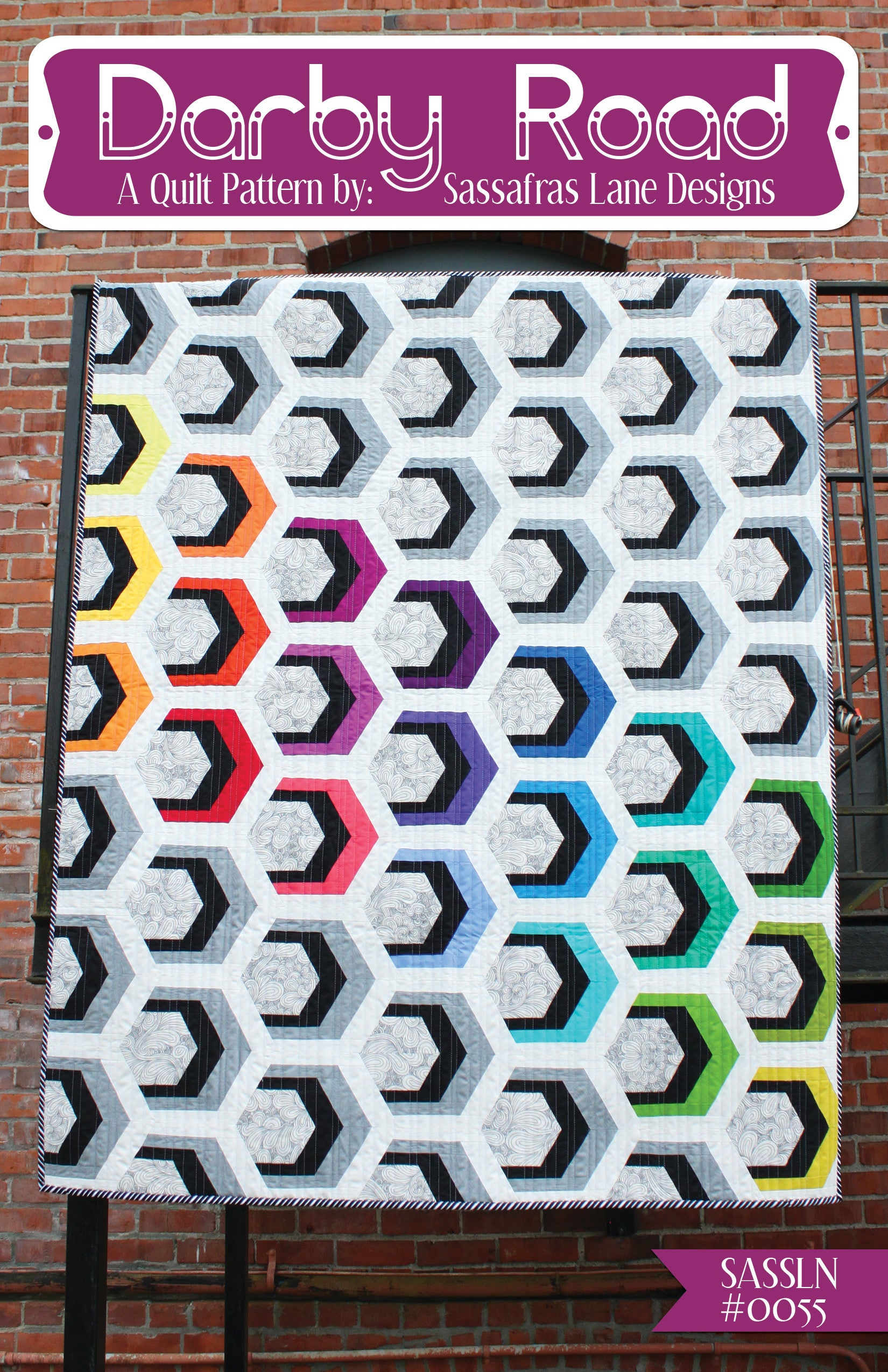 Darby Road Quilt Pattern – Sassafras Lane Designs : road quilt pattern - Adamdwight.com