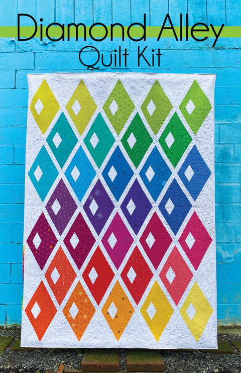 Diamond Alley Quilt Kit