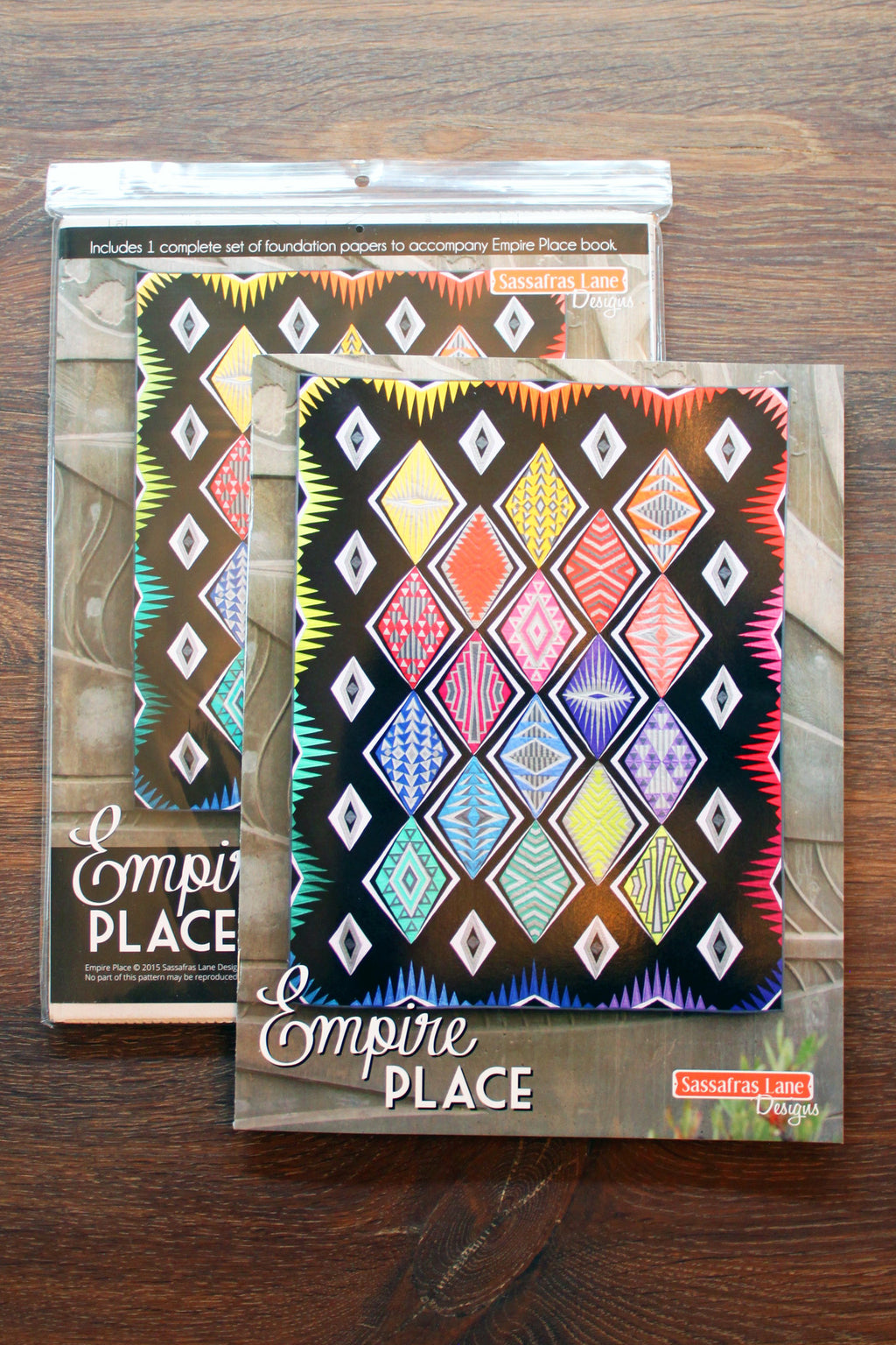 Empire Place Pattern Book & Foundation Papers