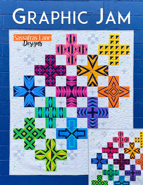 Graphic Jam Pattern Book