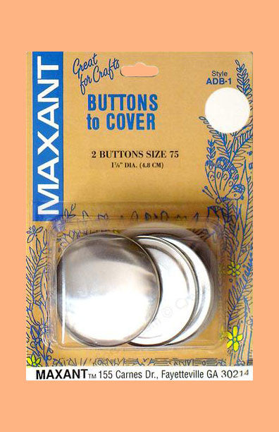 "1 7/8"" Coverable Buttons"