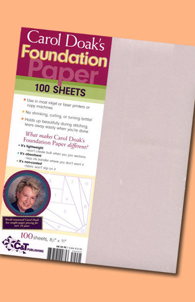 Foundation Paper - Letter Size