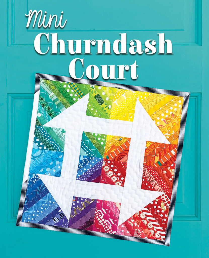 Mini Churndash Court Quilt Pattern
